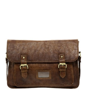 Image 2 ofASOS Double Buckle Satchel