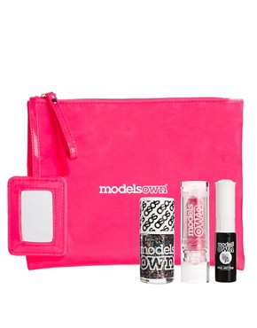 Image 1 ofModels Own ASOS Exclusive Nail &amp; Lip Set SAVE 26%