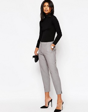 ASOS Slim Leg Crop Trousers