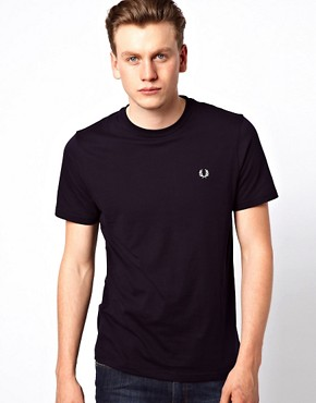 Image 1 ofFred Perry T-Shirt with Laurel Logo
