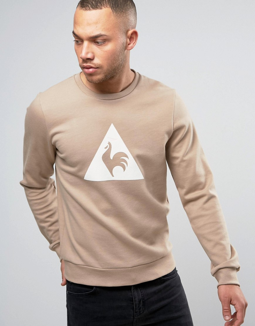 Le Coq Sportif Brown Sweatshirt With Large Logo in Brown 1711095 - Brown