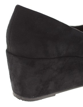 Image 2 ofASOS VERA Pointed Flatform Shoes