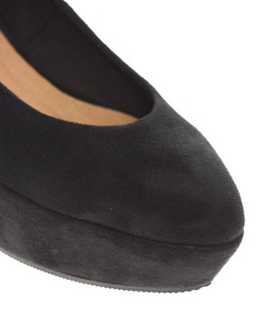 Image 4 ofASOS VERA Pointed Flatform Shoes