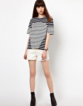 Image 4 ofMarkus Lupfer Stripe Contrast Tee