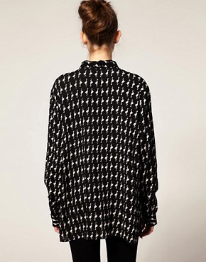 Image 2 ofASOS Shirt With Flamingo Print