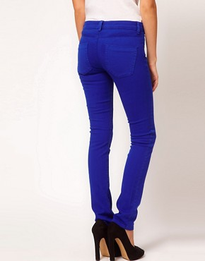 Image 2 ofASOS Skinny Jean in Bright Blue #4