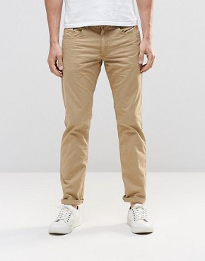 Esprit 5 Pocket Trousers in Slim Fit