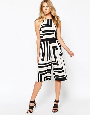 River Island Stripe Playsuit