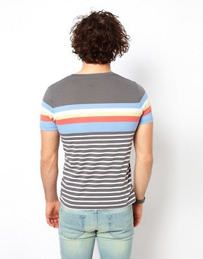 Image 2 ofASOS Stripe T-Shirt With Crew Neck