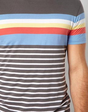 Image 3 ofASOS Stripe T-Shirt With Crew Neck