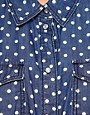 Image 3 ofOnly Polka Dot Denim Shirt