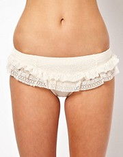 Juicy Couture Ruffle Skirted Bottom
