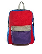 American Apparel Colourblock Nylon Backpack