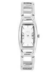 Oasis Silver Interlock Link Braclet Watch