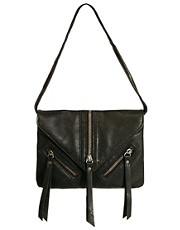 Pieces Gry Cross Body Bag