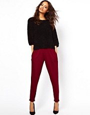 ASOS Peg Trousers in Jersey