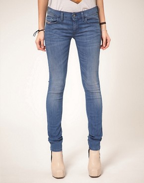 Image 1 ofDiesel Livy Skinny Jean