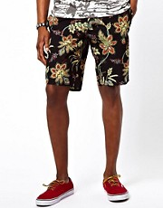 Altamont Chino Shorts Reynolds Floral Print