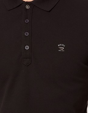 Image 3 ofDiesel Polo Shirt With Logo