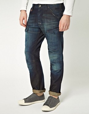 Image 1 ofG Star General 5620 Tapered Jeans