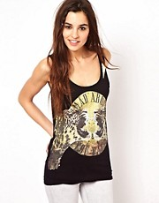 Top de tirantes con estampado de leopardo de Club L