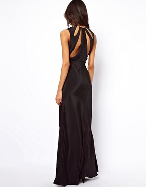 Image 2 ofASOS Maxi Dress with Cut Out Neck
