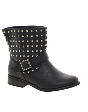 Image 1 ofNew Look Bali Biker Boots