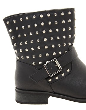 Image 2 ofNew Look Bali Biker Boots