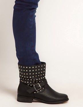 Image 3 of New Look Bali Biker Boots
