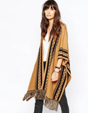Vero Moda Aztec Poncho