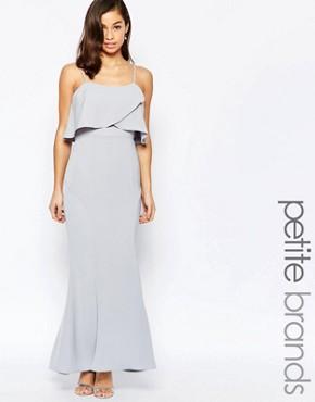 Jarlo Petite Overlay Maxi Dress
