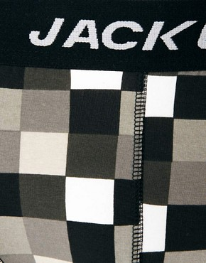 Image 3 ofJack &amp; Jones Map 4 Pack Trunks