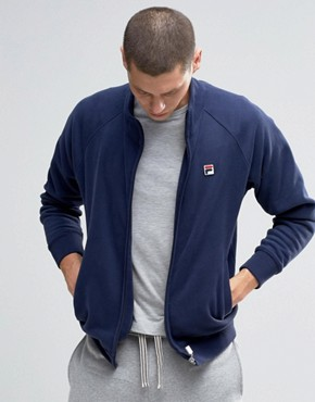 Fila Vintage Sweatshirt With Funnel Neck