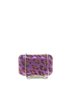 Image 1 ofFrench Connection Leopard Hard Clutch