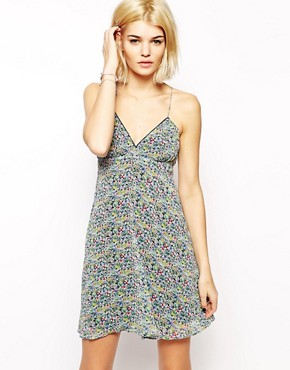 Mango Floral Cami Dress