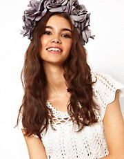 Rock 'N Rose Evelyn Oversized Floral Headband