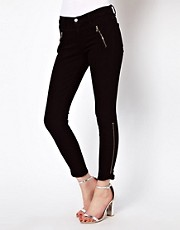 J Brand Carey Ankle Zip Skinny Jeans