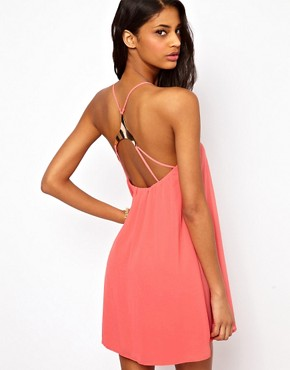 Image 1 of Oh My Love Cami Swing Dress