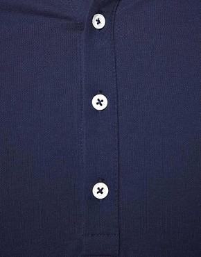Image 3 of ASOS Polo Shirt With Contrast Collar