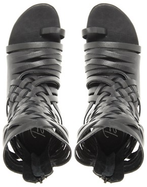 Image 2 ofBlink Leather Gladiator Flat Sandal