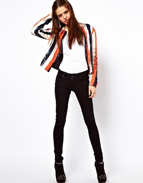 Image 4 ofASOS Sequin Stripe Jacket