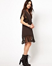 Somedays Lovin Give Me One Reason Dress With Tassel Fringe