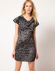 Ruby Rocks Animal Print Dress