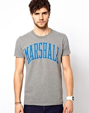 Franklin &amp; Marshall T-Shirt with Marshall Print