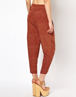 Image 2 ofViva Vena High Waisted Pants with Pleat Front