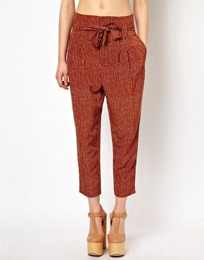 Image 4 ofViva Vena High Waisted Pants with Pleat Front