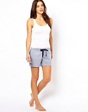 Esprit Woven Stripe PJ Shorts