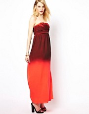 Vila Maxi Dress In Ombre