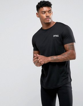 Defend London T-Shirt In Black With Logo