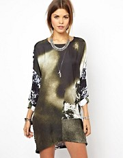 Diesel Printed Oversized Dress